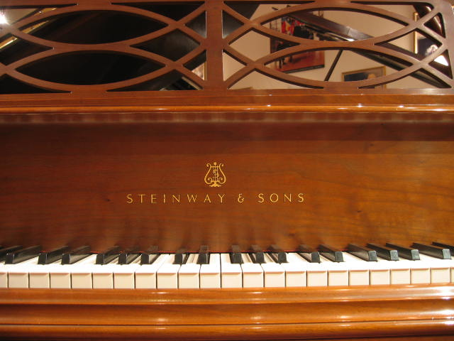 Steinway Model M Chippendale 187 Vienna Piano