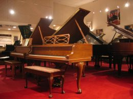 Steinway - Model M, Chippendale