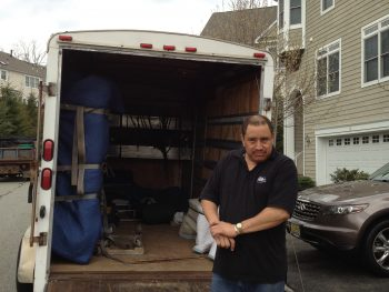 Piano move from Mount Arlington, NJ