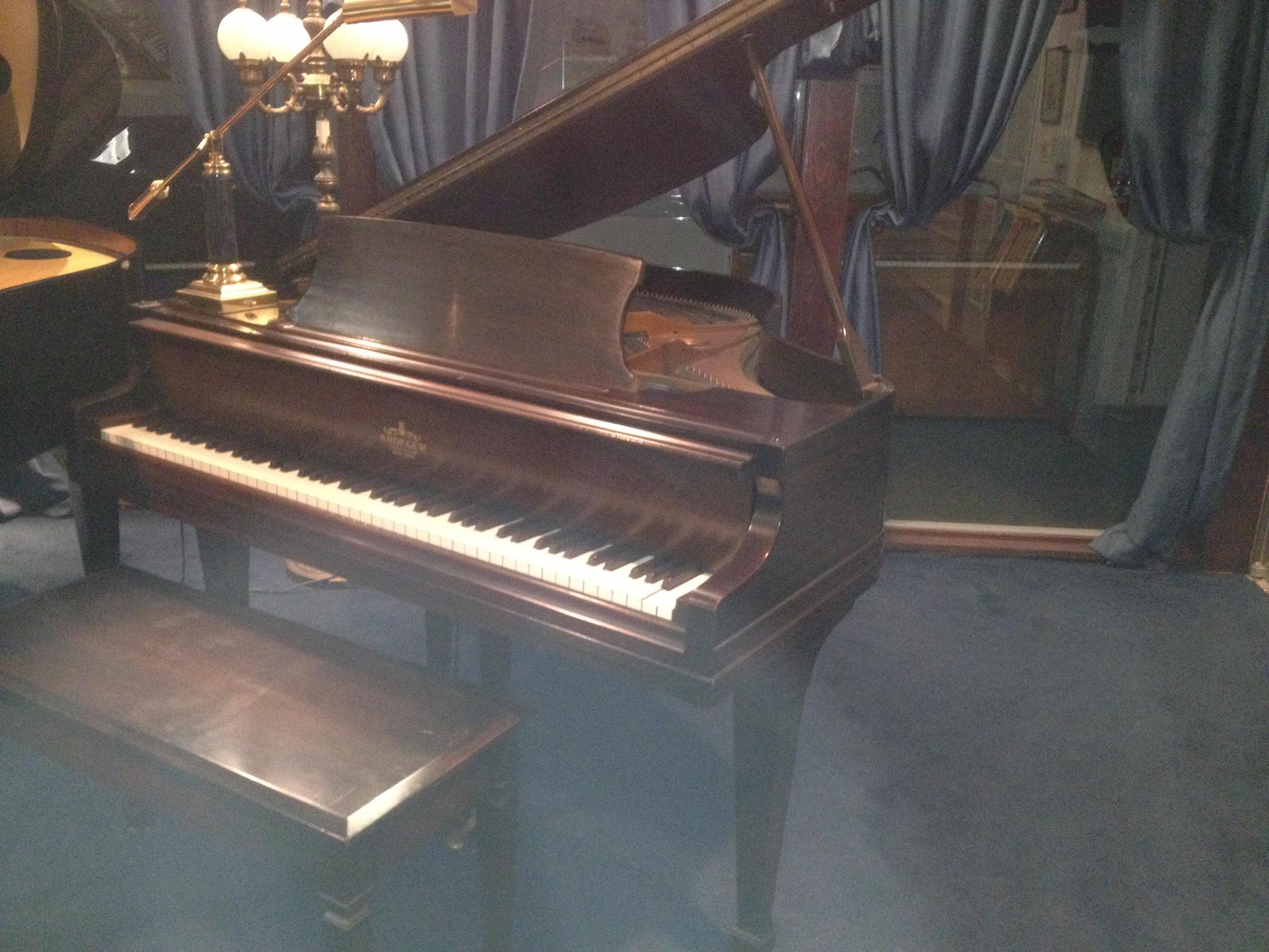Kroeger Baby Grand Vienna Piano
