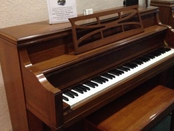 Winter console piano