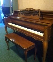 Kohler & Cambell Console Piano