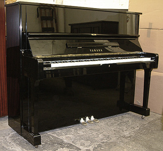 Yamaha u3 full upright piano vienna piano for Used yamaha u1 price
