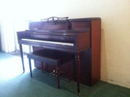 Wurlitzer Console Upright