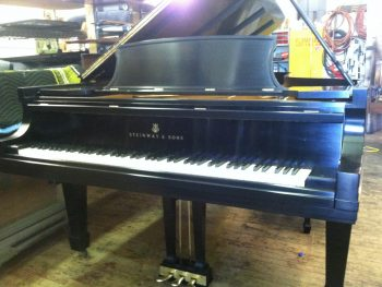 Removing a Steinway Grand Action